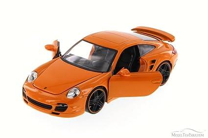 Jada Porsche 911 Turbo, Orange Toys Bigtime Kustoms 91852 - 1/24 scale Diecast