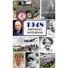 1948 Birthday Notebook: a great alternative to a card
