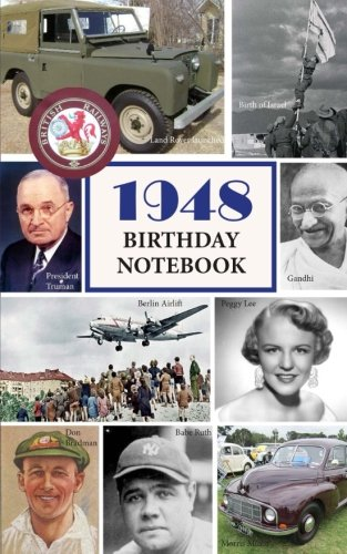 Read Online 1948 Birthday Notebook: a great alternative to a card ebook