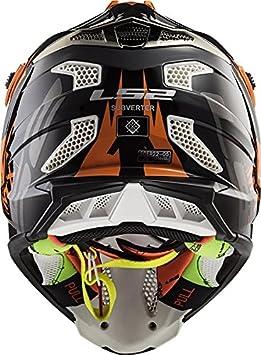 Amazon.com: LS2 Helmets Subverter Voodoo Unisex-Adult Off-Road-Helmet-Style Off Road MX Helmet: Automotive