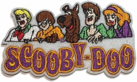 """Great Quality! Scooby-Doo /& Gang in Mystery Machine 4/"""" Tall Embroidered Patch"""