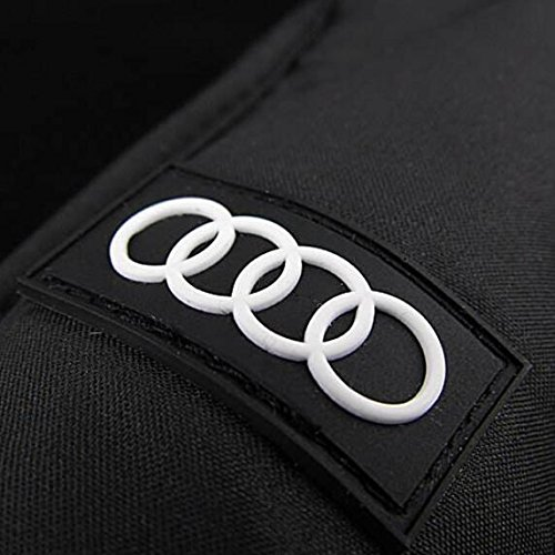 Audi genuine leather handle Japanese brand sun rain Umbrella 3 Fold Anti UV French royal umbrella men women (Black) by Pinsjar (Image #7)