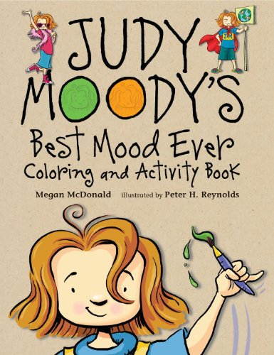 Judy Moody's Best Mood Ever Coloring an