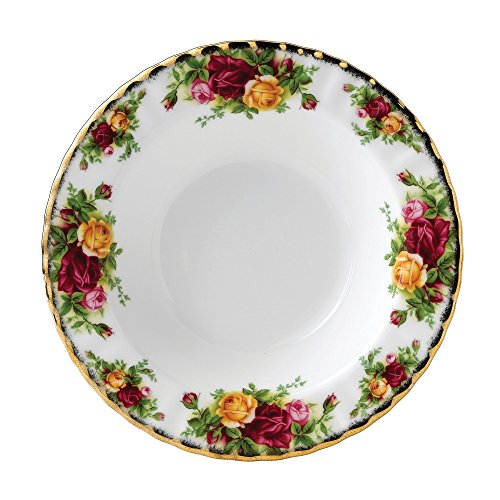 Royal Albert Old Country Roses Rim Soup Bowl (Soup Flowers Bowl Rim)