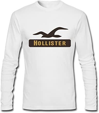 New Hollister For 2016 Mens Printed Long Sleeve Tops t Shirts: Amazon.es: Ropa y accesorios