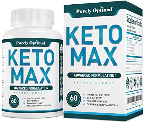 Premium Keto Diet Pills - Utilize Fat for Energy with Ketosis - Boost Energy & Focus, Manage Cravings, Support Metabolism - BHB Ketogenic Supplements for Women and Men - 30 Day Supply