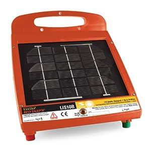Amazon Com Zareba Lis10b Red Snap R 10 Mile Solar Fence