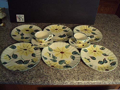 Colonial Saucer - Blue Ridge Colonial SUNFIRE 6 9-3/8