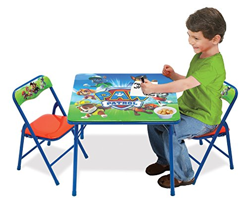 Paw Patrol Activity Table Sets Folding Childrens Table