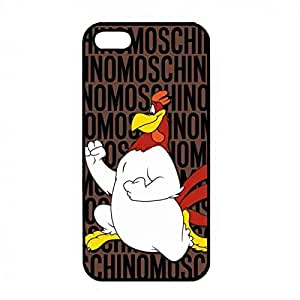 Moschino Cartoon Durable Protective Case Cover for Iphone 5/5s,Iphone 5/5s,Iphone 5/5s Case Cover,Foghorn Leghorn and Sylvester custodia per cellulare/custodia cover