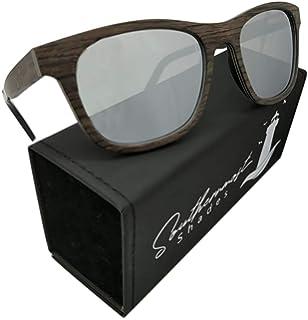 Amazon.com: andwood Real madera anteojos de sol polarizadas ...