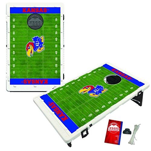 - Victory Tailgate Kansas Jayhawks Baggo Bean Bag Toss Cornhole Game Homefield Design