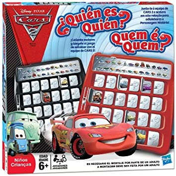 Hasbro ¿Quién es quién? Cars 2 - Juego de Mesa: Amazon.es ...