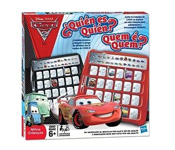 Hasbro Quien Es Quien Cars 2 Juego De Mesa Amazon Es Juguetes