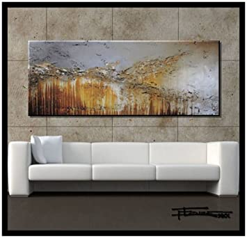 Delicieux Extra Large Modern Abstract Canvas Wall Art. Limited Edition, Hand  Embellished Giclee On Canvas