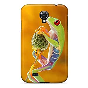 BcIhYyj4098EFzGQ Anti-scratch Case Cover LisaMichelle Protective Treefrog Case For Galaxy S4