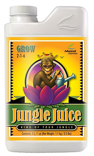 Advanced Nutrients 1725-14 Jungle Juice Grow Fertilizer, 1 Liter