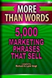img - for More Than Words: 5,000 Marketing Phrases That Sell book / textbook / text book