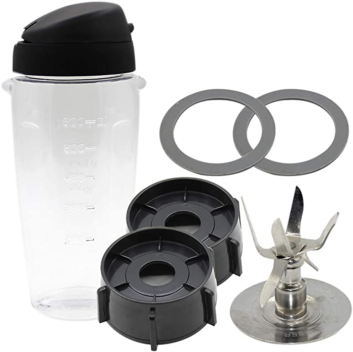 Joyparts Replacement parts Blend-N-Go Smoothie Kit for Oster Blender
