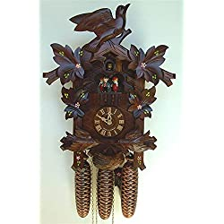 8-Day 16.5 in. Black Forest House Cuckoo Clock