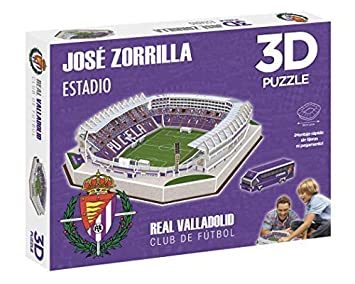 Eleven Force Puzzle EST 3D José Zorrilla (R. Valladolid) (10780), Multicolor (1)