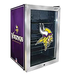 Amazon.com: NFL Themed Beverage Refrigerator (Minnesota ...