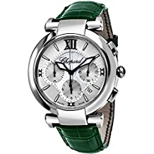 Chopard Men's Imperiale 40mm Green Alligator Leather Band Steel Case Automatic Analog Watch 388549-3001GRN