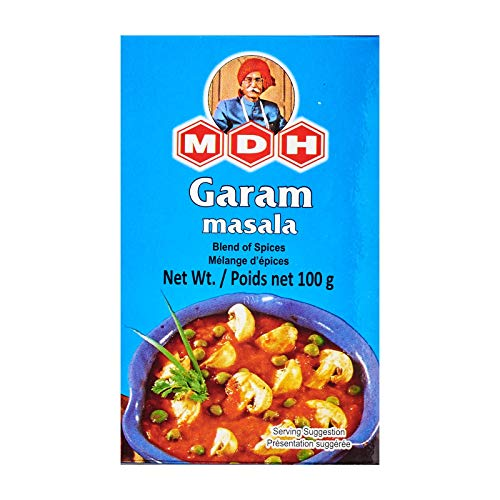 MDH Garam Masala (Blend of Spices), 3.5-Ounce Boxes ()