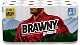Brawny Paper Towels, Pick-A-Size, Giant Roll, White - 8 Pack