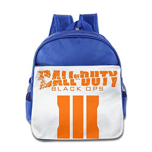 Custom Call Of Duty Black III Kids School Bagpack Bag For 1-6 Years Old RoyalBlue (Ratchet Costume)