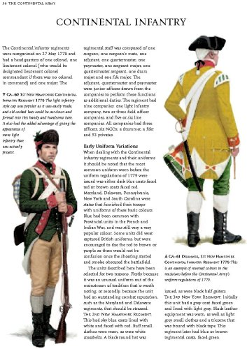 An Illustrated History of Uniforms from 1775-1783: The
