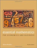 Essential Mathematics for Economics and Business, Teresa Bradley, 1118358295