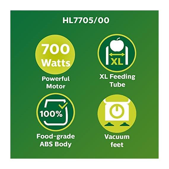 Philips Viva HL7705/00 700-Watt Juicer Mixer Grinder 2