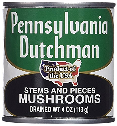 Price comparison product image Pennsylvania Dutchman Canned Mushrooms - 12 / 4 oz. cans (Pack of 3)