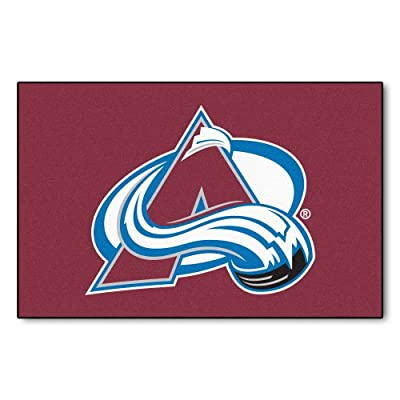 Fanmats NHL Colorado Avalanche Nylon Rug