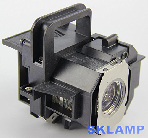 ELP49 V13H010L49 Projector Lamp Bulb with Housing Replacement for Epson Power Lite Home Cinema 8350 8345 by Woprolight (Image #1)