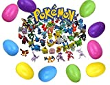 Toys : 24 Pokemon Mini Figures Filled Easter Eggs. Perfect for Easter Hunting