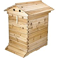 Yescom Beehive 20 Frame Wooden Honey Beekeeping Box Kit (Multi Size)