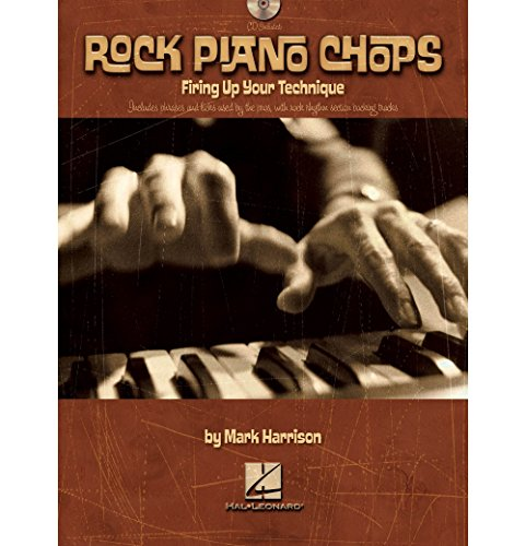 - Hal Leonard Rock Piano Chops Firing Up Your Technique Book/CD