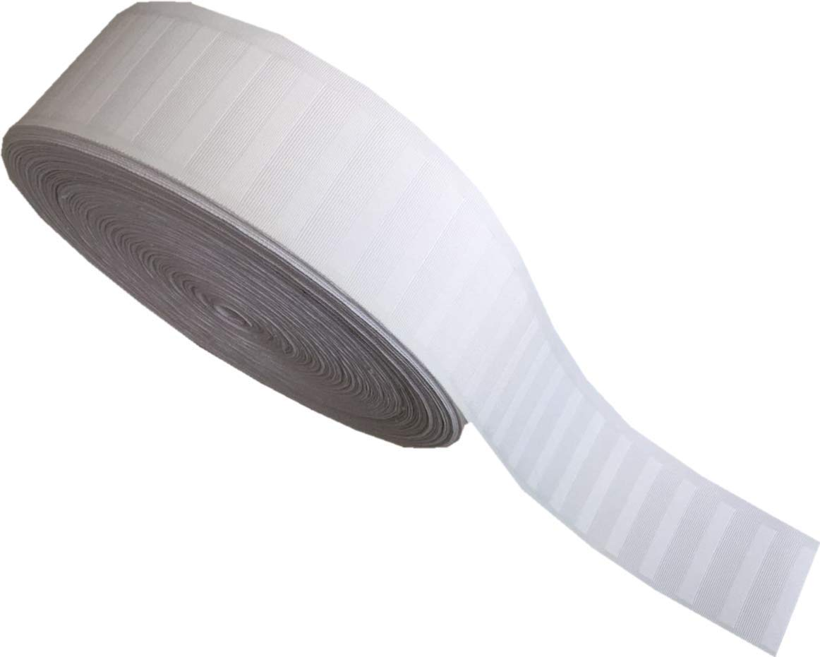 Pure White Deep Pinch Pleat Tape (20-Yards) by zhijiage