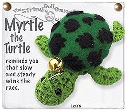 (Kamibashi Myrtle the Turtle Original String Doll Gang Keychain Toy)