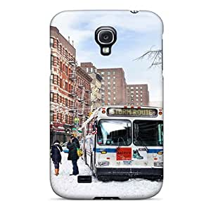 Galaxy S4 Case Slim [ultra Fit] Storm Route Bus Protective Case Cover
