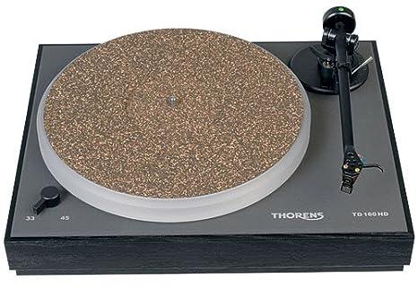 Thorens TD 160 HD - Tocadiscos (Tocadiscos de tracción por Correa ...