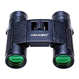 USCAMEL HD 8x25 Binoculars Long Range 1000m Waterproof Folding Telescope Compact Size Black