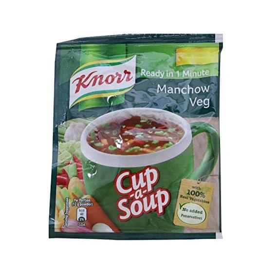 Knorr Cup A Soup Instant Soup, Manchow Veg, 12g