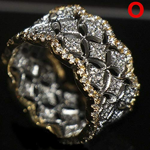 (Dokis Fashion 925 Silver Round Cut Sapphire Women Wedding Ring Jewelry Size 6-10 | Model RNG - 3899 | 8)