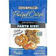 Snack Factory Pretzel Crisps Original Flavor, Large Party Size, 14 Oz