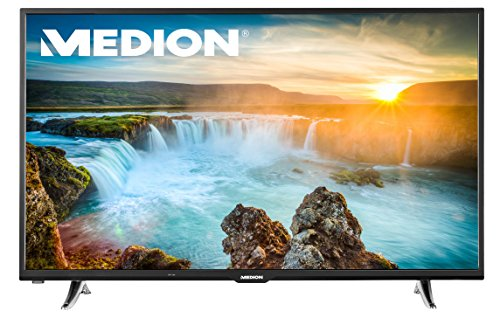 MEDION® LIFE X18061 (MD 31110), 125,7cm (50) Smart-TV mit LED-Backlight Technologie (Full HD, 600 MPI, HD Triple Tuner, DVB-T2 HD, CI+, HDMI, USB), Netflix App, schwarz