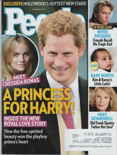 People 2013 October 21 - Meet CRESSIDA BONAS: A Princess for Harry.