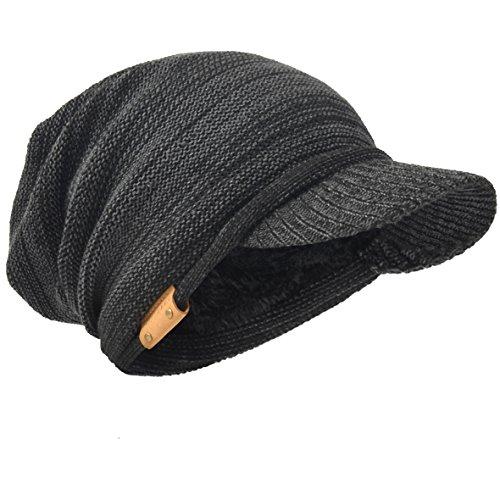 Knit Visor Cap - 2